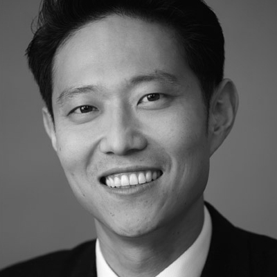A speaker photo for James Ahn