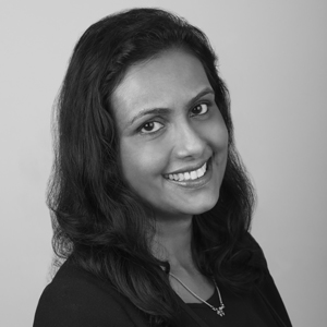A speaker photo for Nisha Raghavan