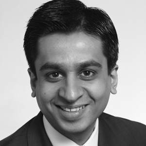 A speaker photo for Ravi Parekh