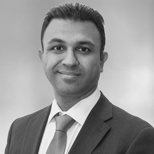 A speaker photo for Hiren Patel