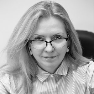 A speaker photo for Professor Iryna  Zapatrina