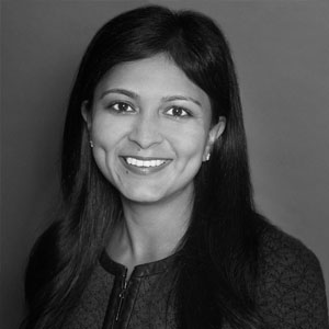 A speaker photo for Pooja Goyal
