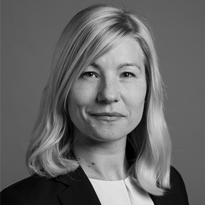 A speaker photo for Hanna Ideström