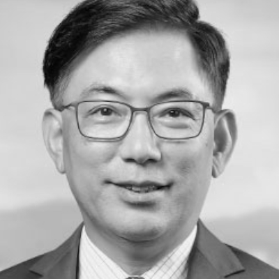 A speaker photo for George HongChoy