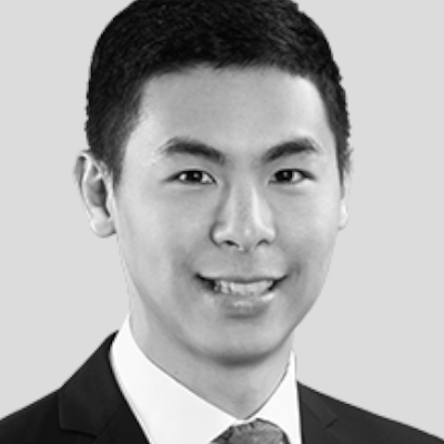 A speaker photo for Justin Wai